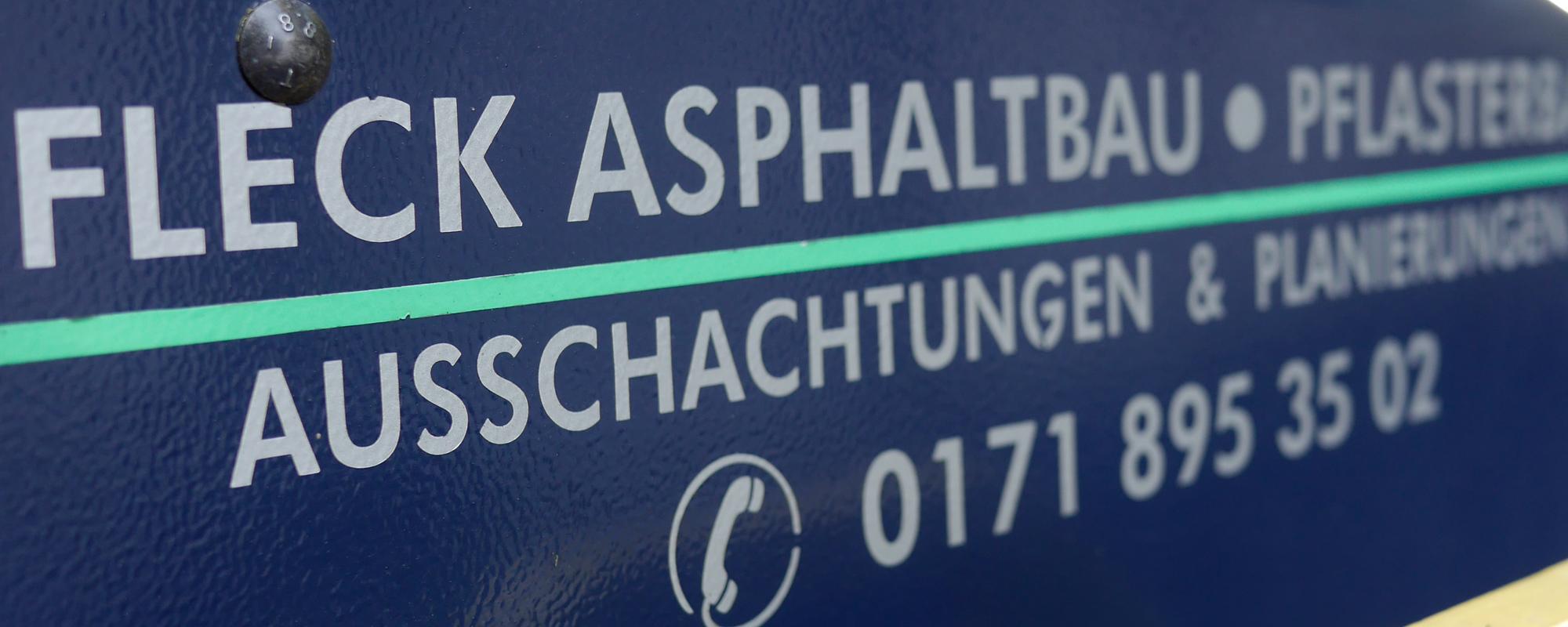 FLECK-Asphaltbau-GmbH-Ausschachtung-1