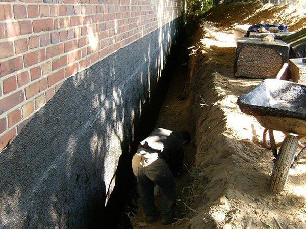 FLECK-Asphaltbau-Mauerwerksabdichtungen